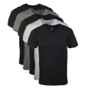 Gildan Men's Assorted V-Neck T-Shirts Multipack $11.97