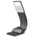 LEPOWER LED Bookmark Book Light, 3 Colors x Stepless Adjustable Brightness Reading Lights, Eye Protection & Portable, Built-in USB Cable Easy Charge, Perfect for Kindle, IPad & Bookworms Kids $8.99
