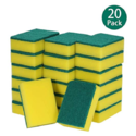 esonmus 20 Pack Multi-Use Heavy Duty Scrub Sponge Extra Thin Magic Cleaning Sponges Eraser Sponge for Kitchen Bathroom Furniture Leather Car & Steel $5.99