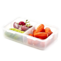 LOCK & LOCK Airtight Rectangular Food Storage Container with Removable Divider 27.05-oz / 3.38-cup $3.77