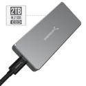 Sabrent Rocket Pro 2TB NVMe USB 3.1 External Aluminum SSD (SB-2TB-NVME) $301.51,free shipping