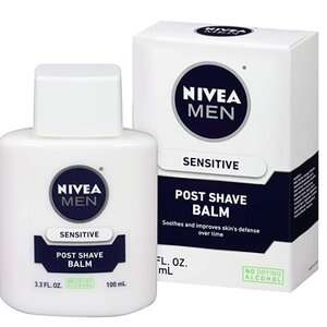 NIVEA 男士须后乳液4折热卖 3支$11 K妹推荐 可当妆前乳