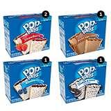 史低价!Pop-Tarts 塔塔饼,四种口味混合包装,60块