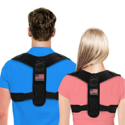 Posture Corrector For Men And Women - USA Designed Adjustable Upper Back Brace For Clavicle Support and Providing Pain Relief From Neck, Back and Shoulder (Universal) $16.99