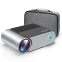 "Mini Projector, Vamvo L4200 Portable Video Projector, Full HD 1080P 200"" Display Supported; Outdoor Movie Projector 3800 Lux with 50,000 Hrs $104.99"