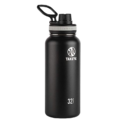 Takeya 50011 Originals Vacuum-Insulated Stainless-Steel Water Bottle, 32oz, Black, 32 oz $23.88