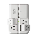 APC Wall Pivot-Plug Surge Protector, 4 Rotating Outlets, 1080 Joule Surge Protector with Two USB Charging Ports, SurgeArrest Essential $22.06