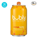 bubly Sparkling Water, Mango, 12 Fluid Ounces cans, (18 Pack) $7.23