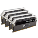 CORSAIR 白金统治者 64GB(4x16GB)DDR4 3200MHz 台式机内存条