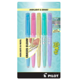 Pilot 可擦高光重点标记笔,小清新色