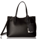 Calvin Klein Jacky Micro Pebble Leather Slouchy East/West Tote $104.00,free shipping