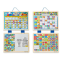 Melissa & Doug Kids' Magnetic Calendar and Responsibility Chart Set With 120+ Magnets to Track Schedules, Tasks, and Behaviors $29.99,free shipping