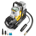 AstroAI Portable Air Compressor Pump Tire Inflator, 150 PSI 12V Electric Digital Pump with Extra Nozzle Adaptors and Fuse for Car Bike Tires and Other Automobiles $29.99,free shipping