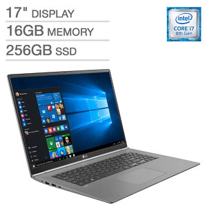 Costco: LG Gram 17 17z990 WQXGA Ultrabook (i7 8565U, 16GB