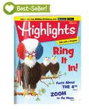 Highlights 儿童杂志半年6本 陪伴几代美国孩子成长