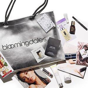 Bloomingdale's: Free Beauty Sample Bag With $150