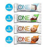 ONE 高蛋白低糖能量棒12支