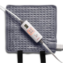 Sunbeam Wrapping Heating Pad for Fast Pain Relief | Small XpressHeat, 6 Heat Settings with Auto-Shutoff and Fastening Straps | Grey, 12-Inch x 11-Inch $15.00