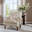 Madison Park 布艺沙发椅,米色,现价$205.99, 免运费