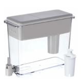 Brita Large 18杯 UltraMax饮水机和过滤器 - 无BPA - 灰色