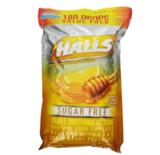 销量冠军!HALLS 蜂蜜柠檬止咳润喉糖,180颗, 现点击coupon后