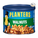Planters Walnuts, Unsalted, 7.25 oz Canister (Pack of 3) $15.94