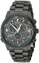 Citizen Nighthawk A-T Stainless Steel Eco-Drive Men's Watch