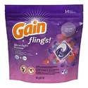 Gain Flings Moonlight Breeze Laundry Detergent Pacs 14 Count