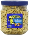 Planters Cashew Halves and Pieces Jar, 26 Ounce
