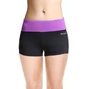 Baleaf Women's Workout Running Boy Cut Foldover Shorts Inner Pocket