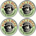 Burt's Bees 100% Natural Res-Q Ointment (Pack of 4)