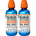 TheraBreath Dentist Recommended Fresh Breath Oral Rinse Pack of 2
