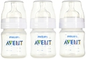 Philips AVENT Classic Plus BPA Free Polypropylene Bottles, 4 Ounce (Pack of 5)