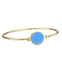 Marc by Marc Jacobs Conch Blue Skinny Cuff Bracelet