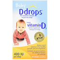 Ddrops Baby 400 IU, 90 drops 2.5mL (0.08 fl.oz)