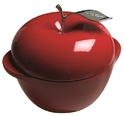 Lodge L Series Enameled Cast Iron Apple Pot