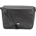 Kenneth Cole Expandable Computer Compatible Messenger Bag,Black