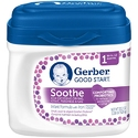 Gerber Good Start Soothe Non-GMO Powder Infant Formula, Stage 1 (Pack of 6)