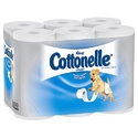 Cottonelle Ultrasoft Bulk Toilet Paper 48 Rolls / Case (4 Packs of 12)