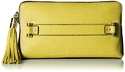 MILLY Astor Clutch, Citron, One Size