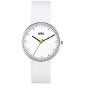 Braun Women's BN0021WHWHL Classic Analog Display Quartz White Watch