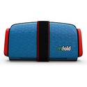 mifold Grab-and-Go Car Booster Seat, Denim Blue