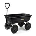Gorilla Carts 后院用四轮翻斗推车