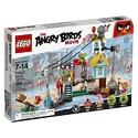 Lego 愤怒的小鸟系列 猪城毁灭 386片