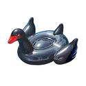 Swimline 90628 Giant Black Swan Ride-On Pool Float