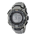 Casio Men's PAG240T-7CR Triple-Sensor Watch
