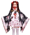 VSVO Anime Cosplay Lolita Halloween Dress Japanese Kimono Costume