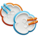 BABYBJORN Baby Plate, Spoon and Fork 2 Pack