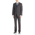 Tommy Hilfiger Men's Bowman 2 Button Suit with Flat Front Pant