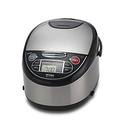 Tiger JAX-T10U-K 5.5-Cup Micom Rice Cooker with Food Steamer & Slow Cooker
